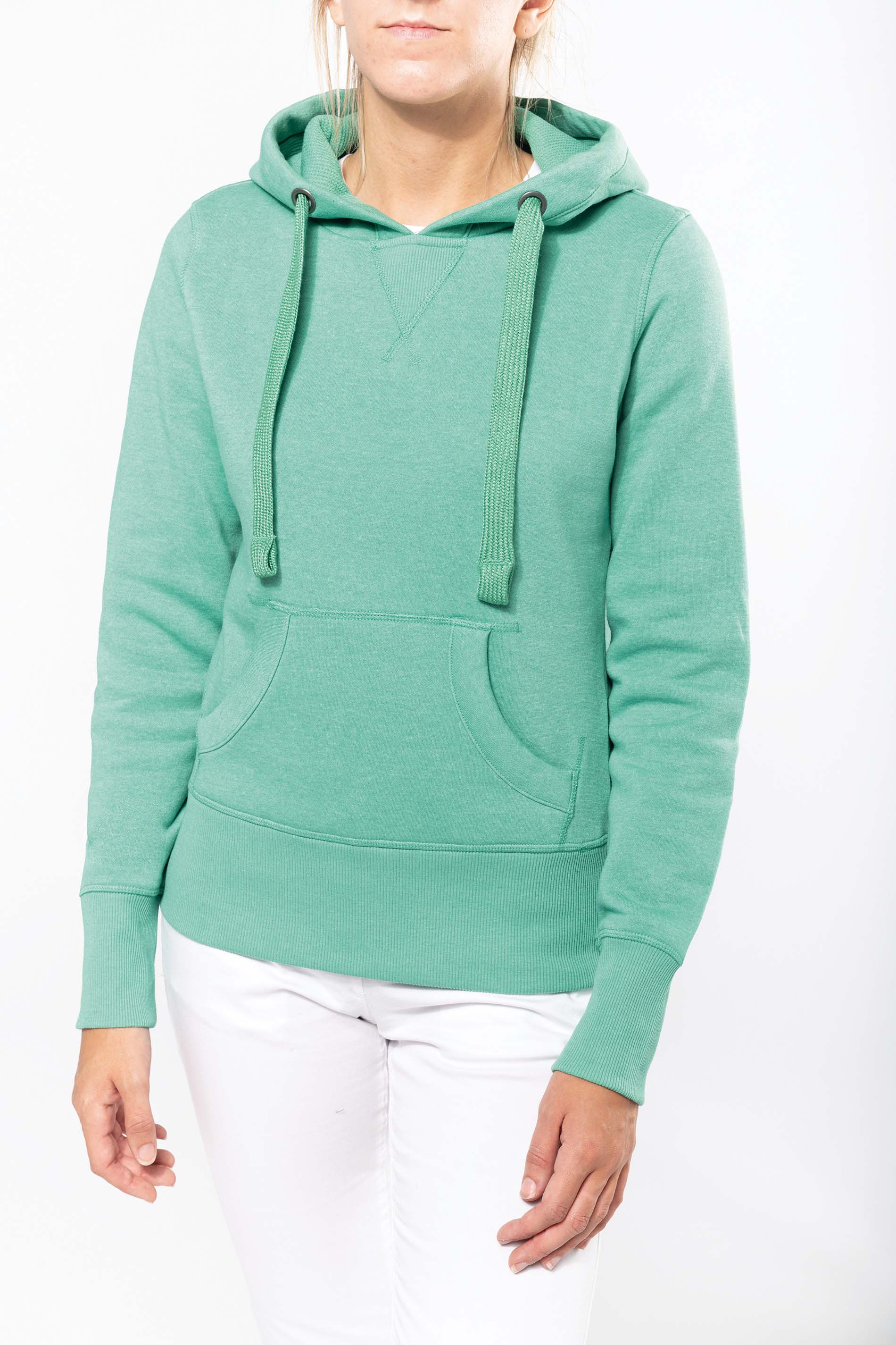 "Kariban Sweat-shirt capuche ""m�lange"" femme"