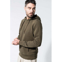 Kariban Sweat-shirt BIO capuche homme