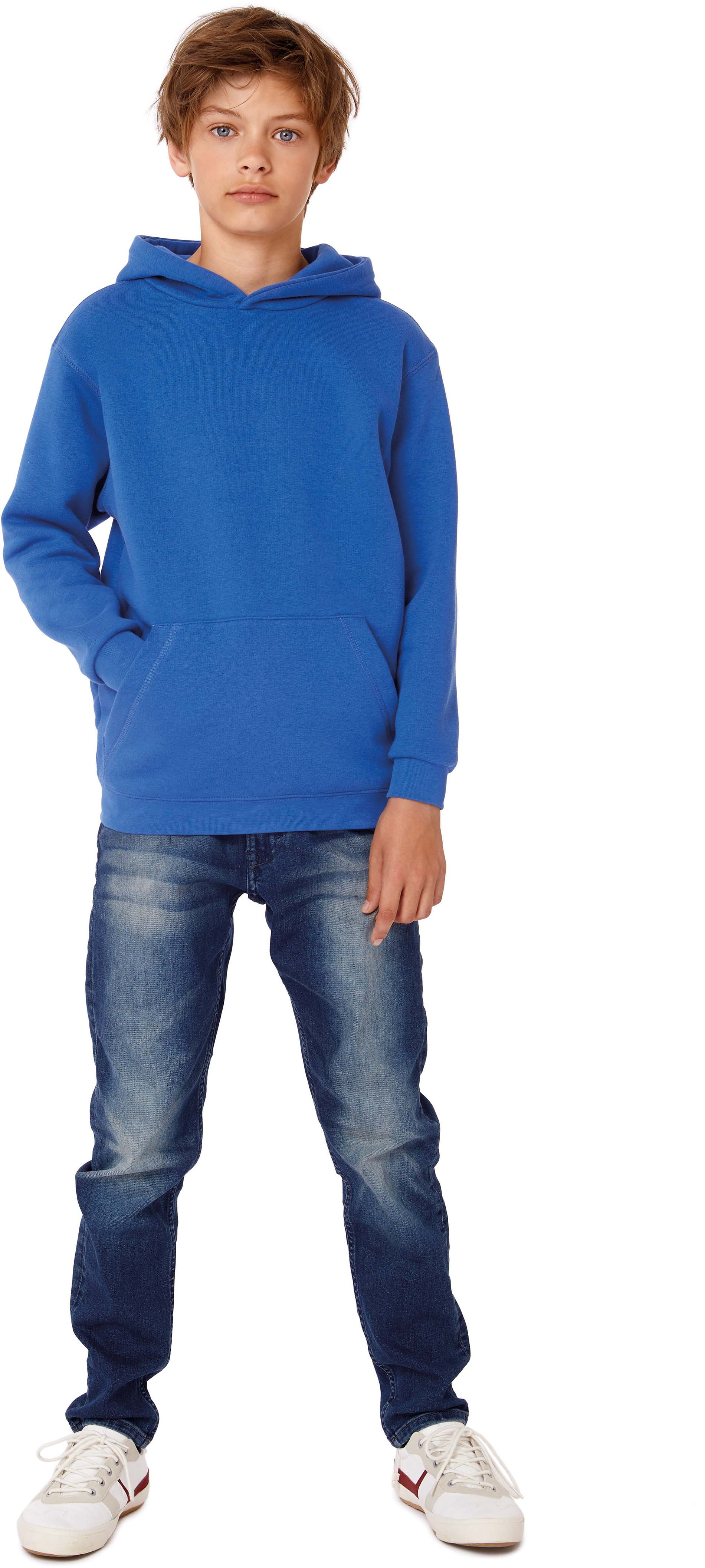 B&C SWEAT-SHIRT CAPUCHE ENFANT