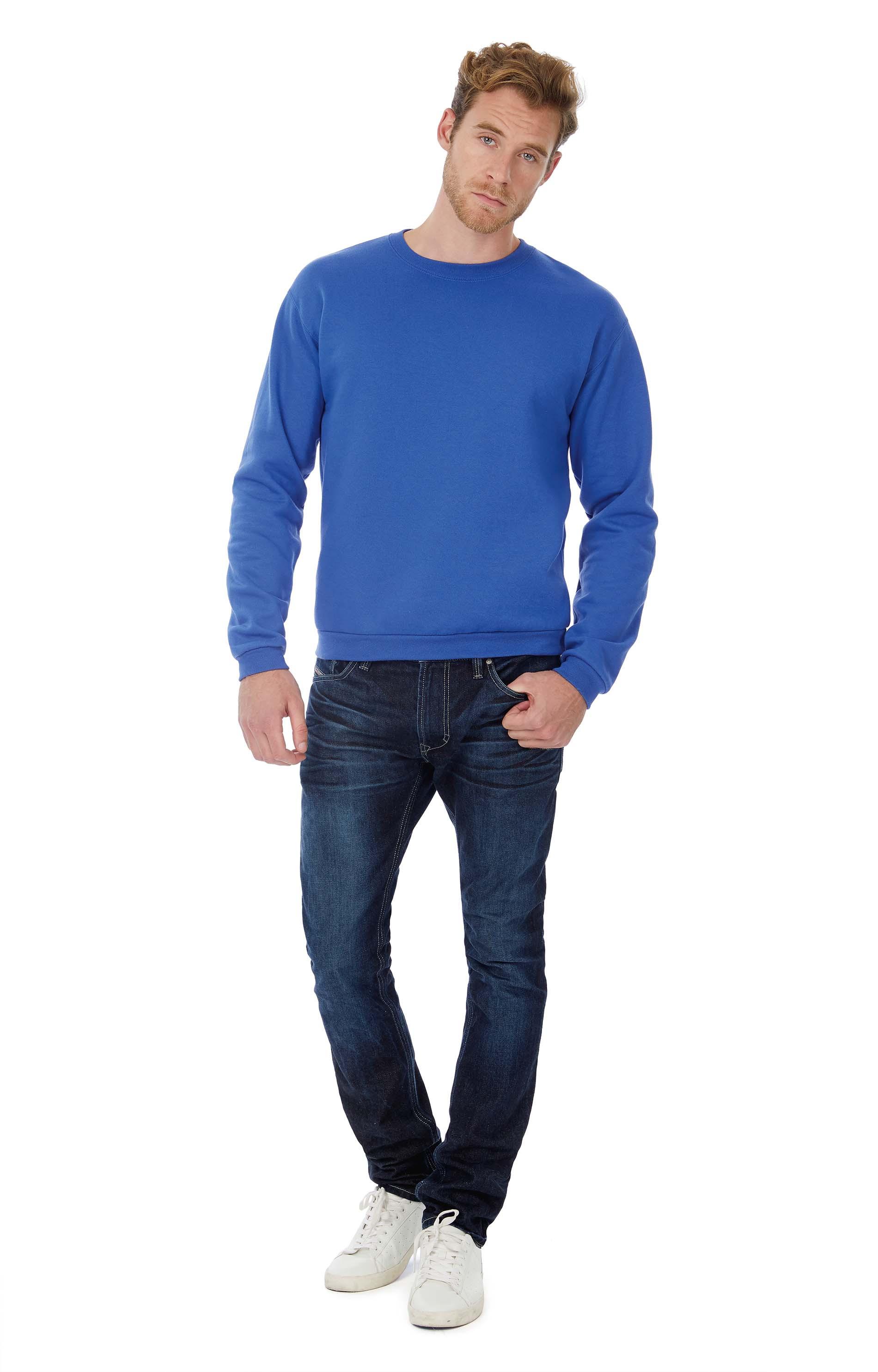 B&C Sweatshirt col rond ID.202
