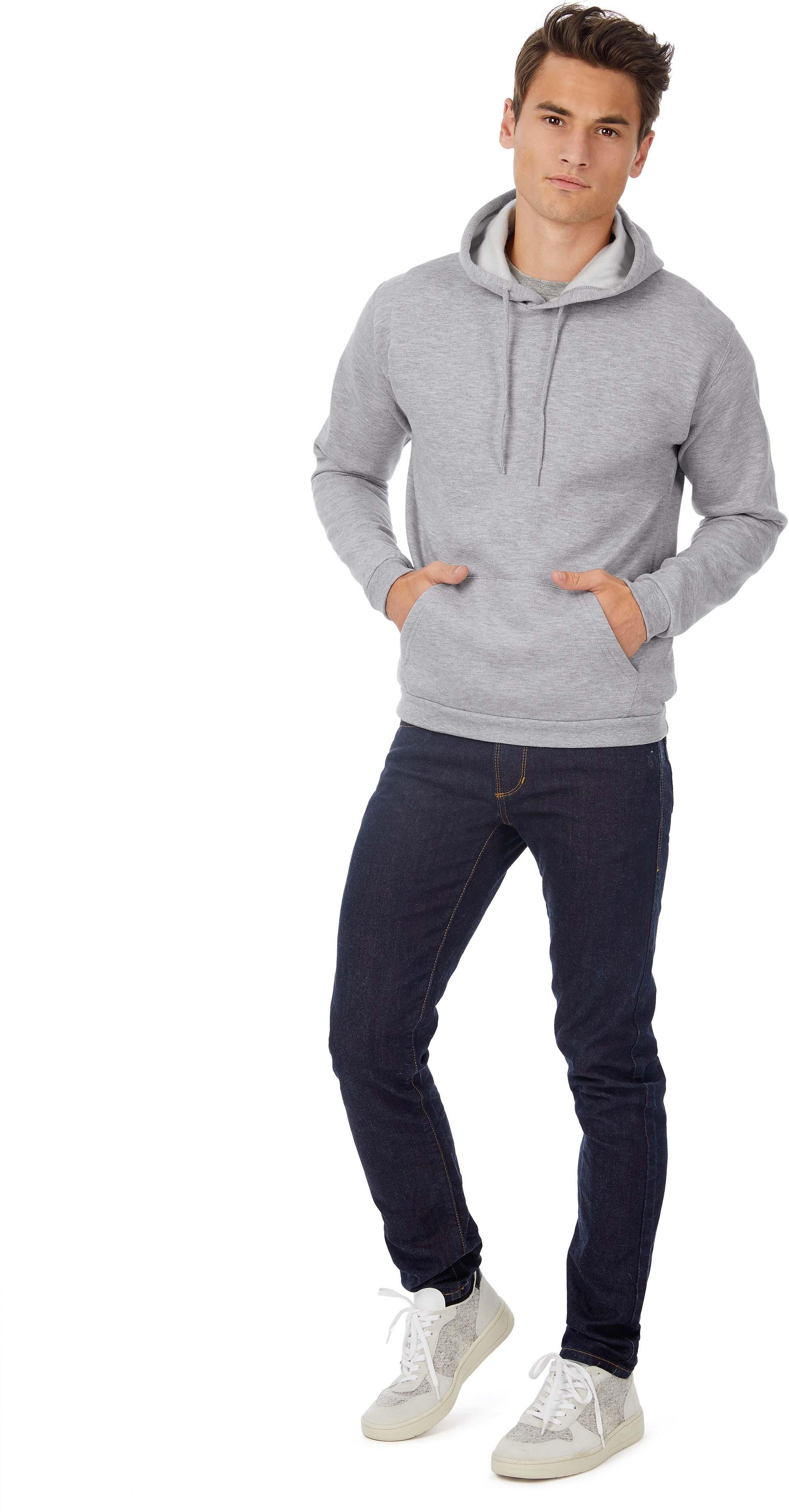B&C Sweatshirt capuche ID.203