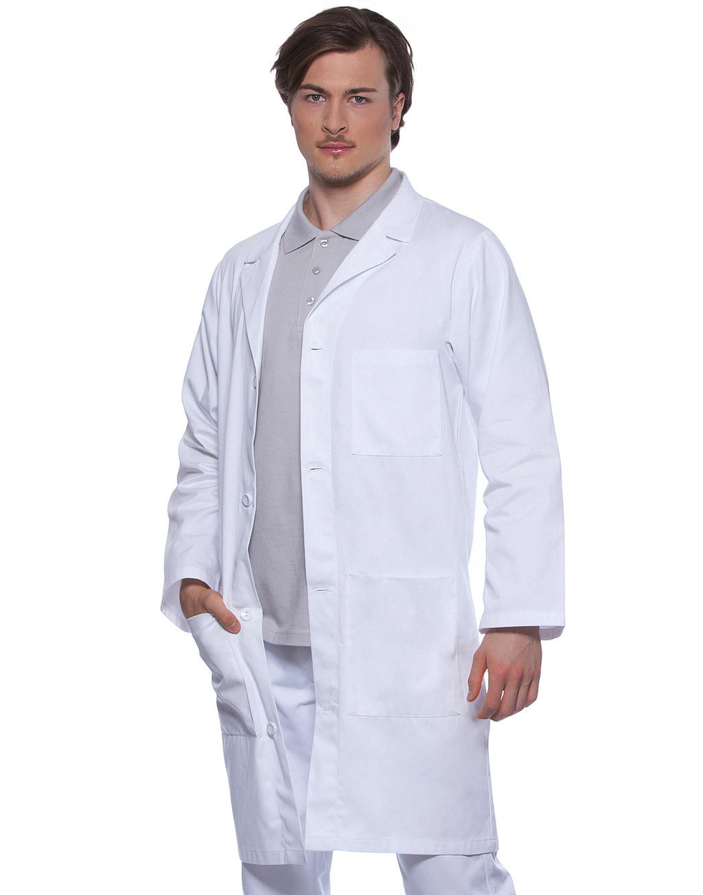 Karlowsky Poly/Cotton Workcoat Basic Men