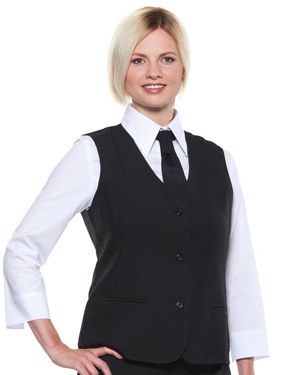Karlowsky Basic Waistcoat Women