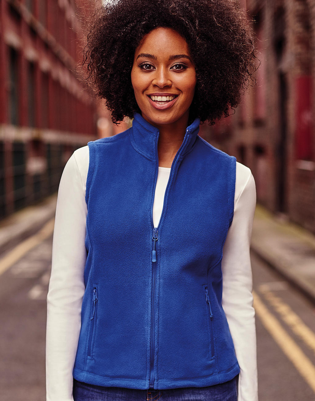 Russell Ladies' Gilet Outdoor Fleece