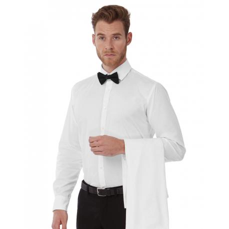 B&C Black Tie LSL/men Shirt