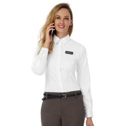 B&C Black Tie LSL/women Poplin Shirt