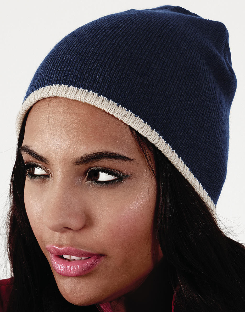 Beechfield Two-Tone Beanie Knitted Hat