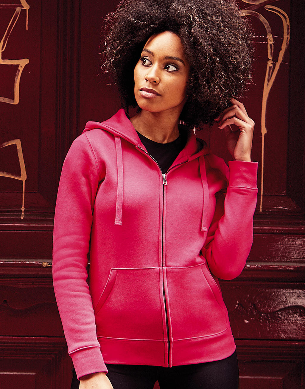 Russell Ladies´ Authentic Zipped Hood