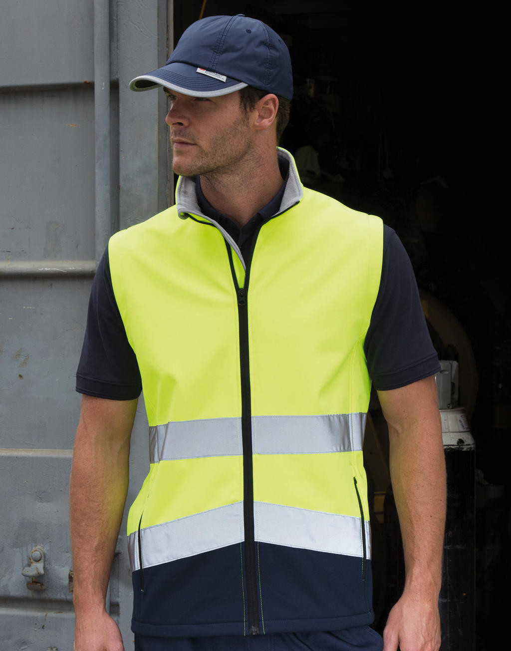 Result Safe-Guard Printable Safety Softshell Gilet