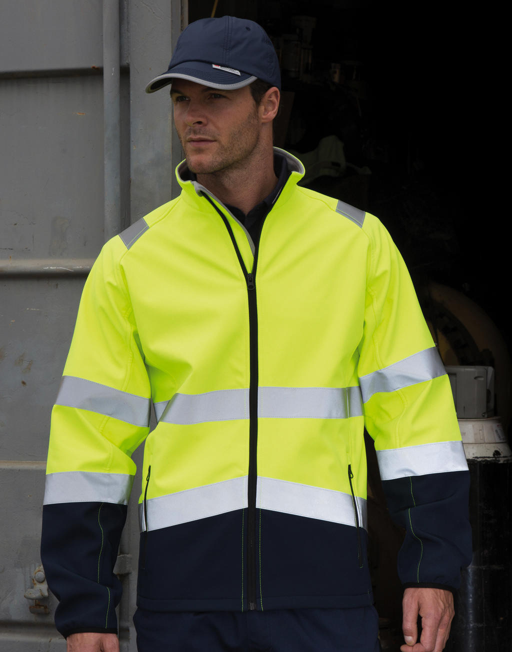 Result Safe-Guard Printable Safety Softshell