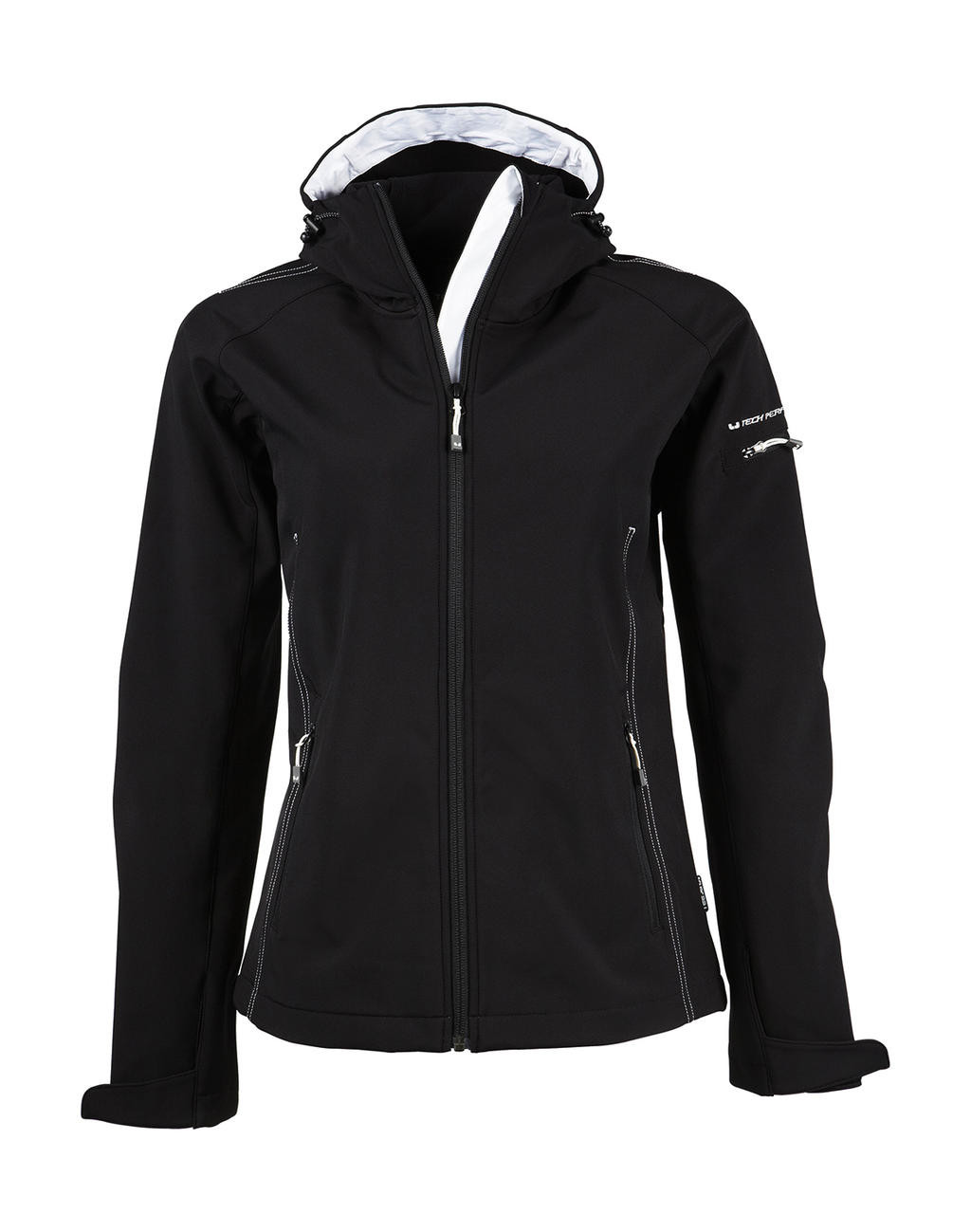 Tee Jays Ladies Hooded Fashion Softshell Jacket
