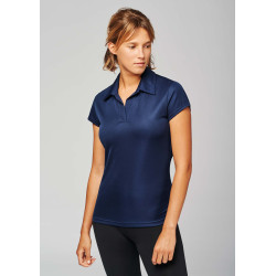 Proact POLO SPORT MANCHES COURTES FEMME