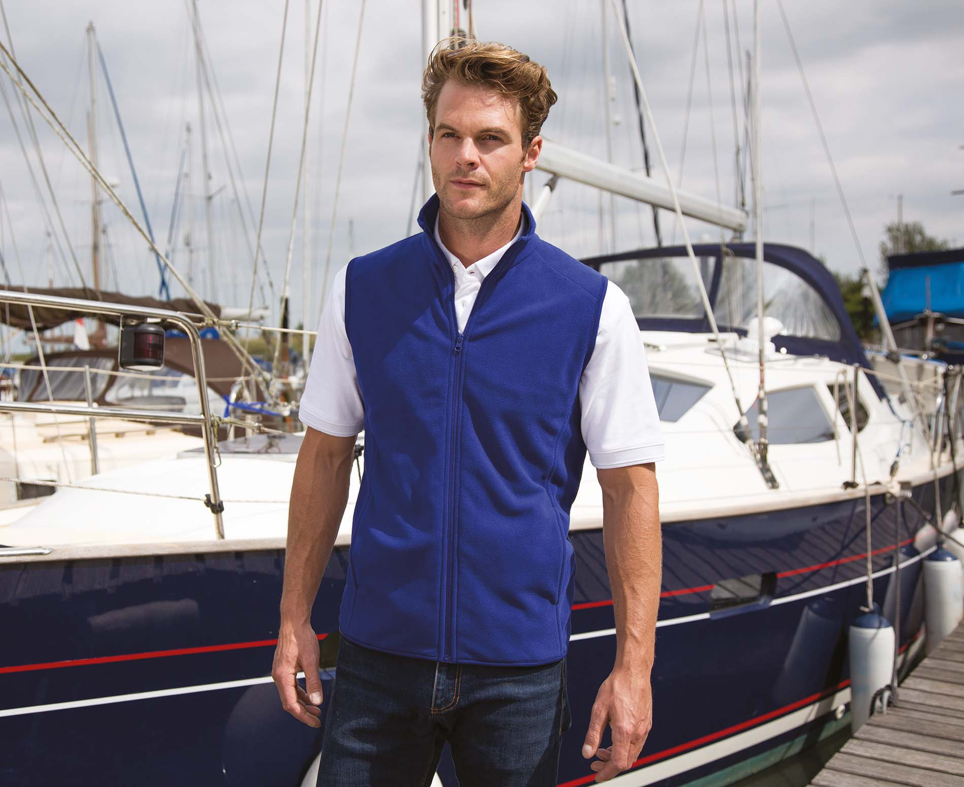 Result Gilet micro polaire