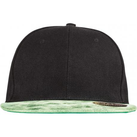 Result Bronx Glitter Flat Peak Snapback Cap