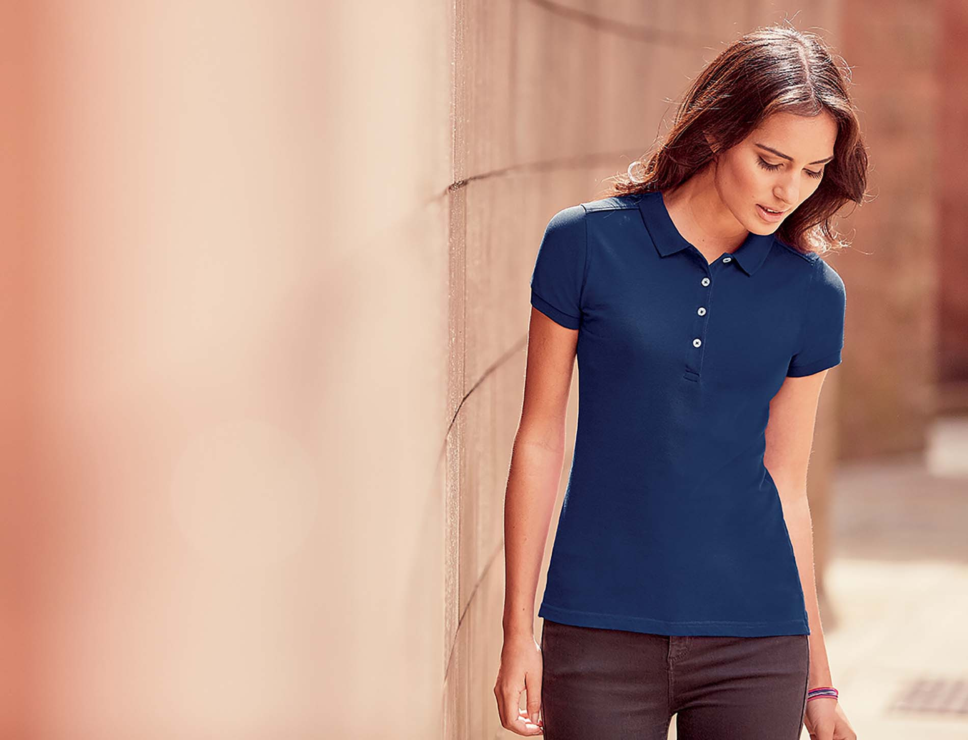 Russell Polo Stretch Femme