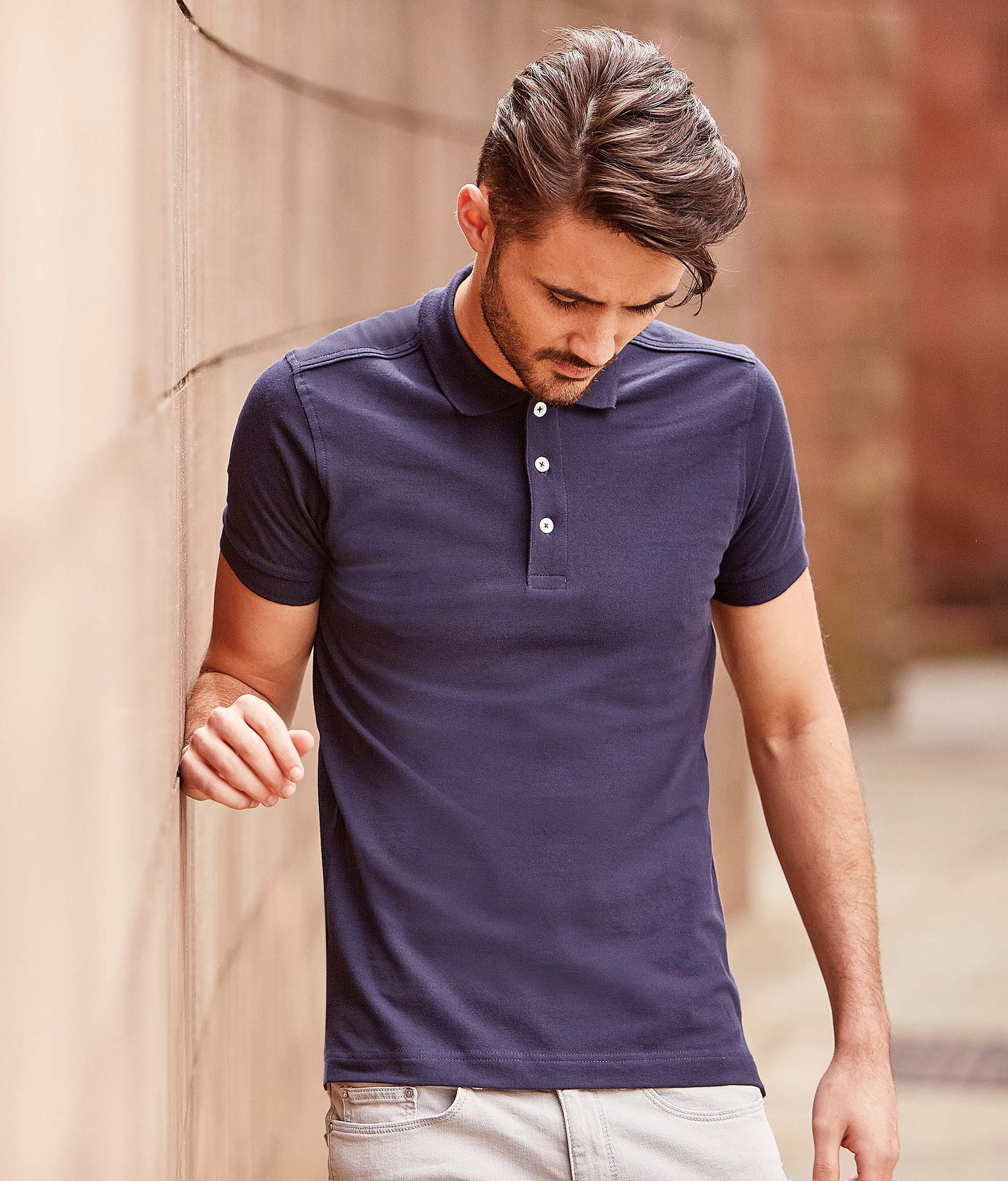 Russell Polo Stretch Homme
