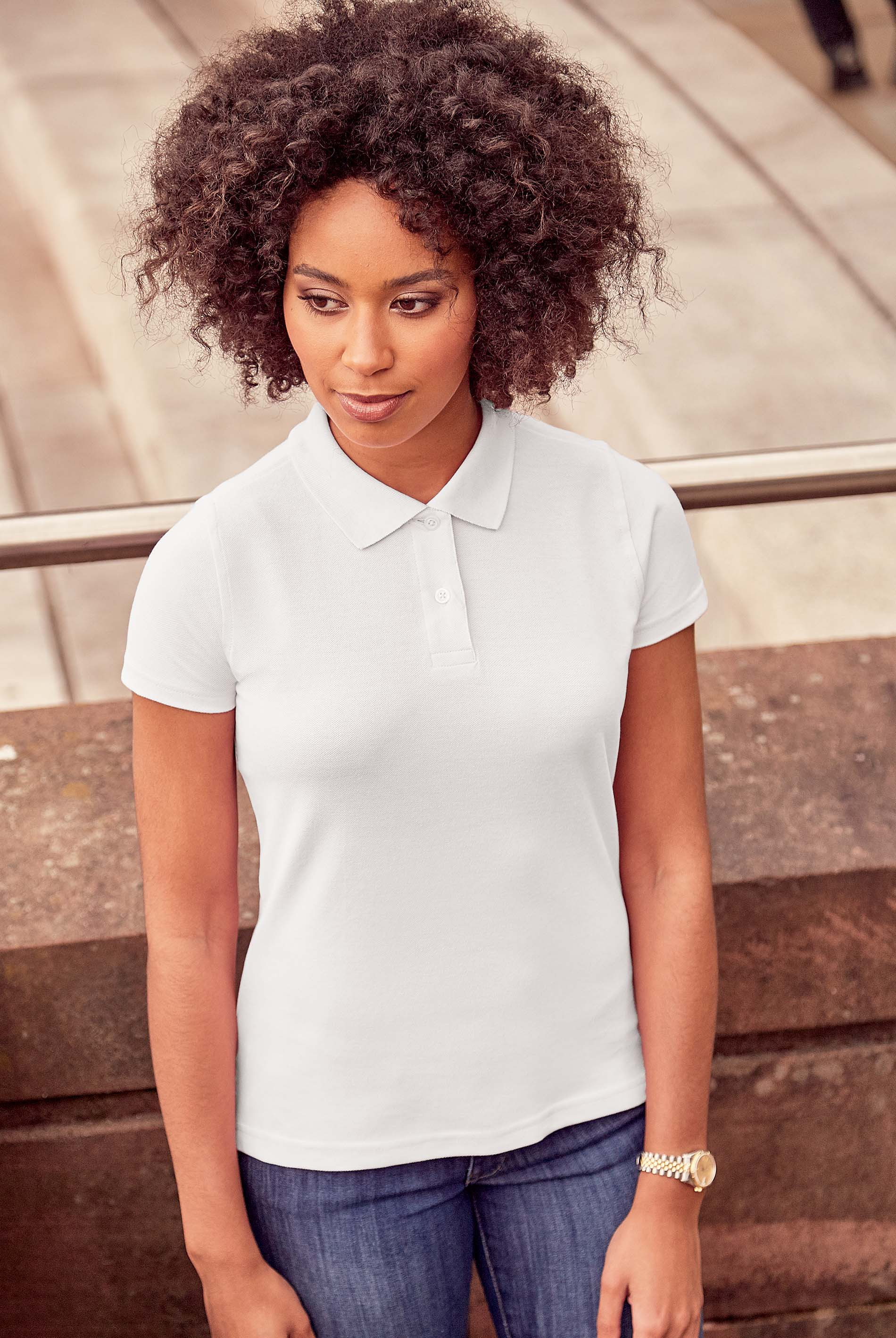 Russell POLO FEMME CLASSIC