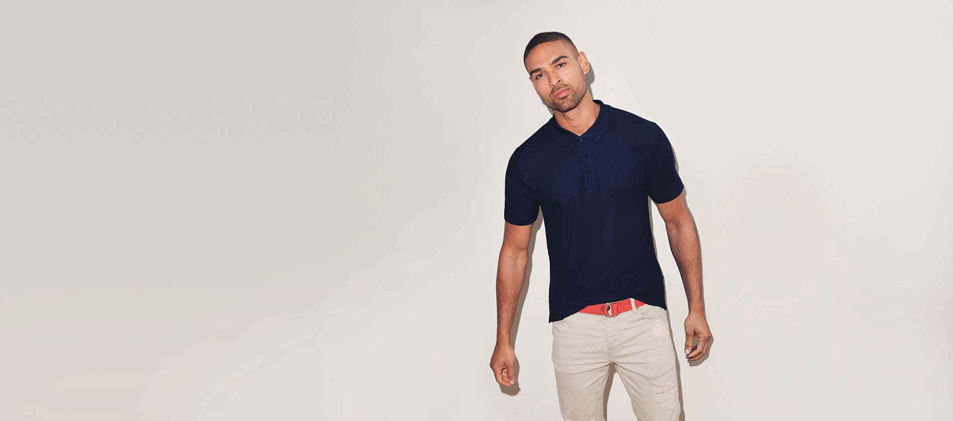 Fruit of the Loom Polo homme Iconic