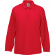 Fruit of the Loom Polo enfant 65/35 manches longues