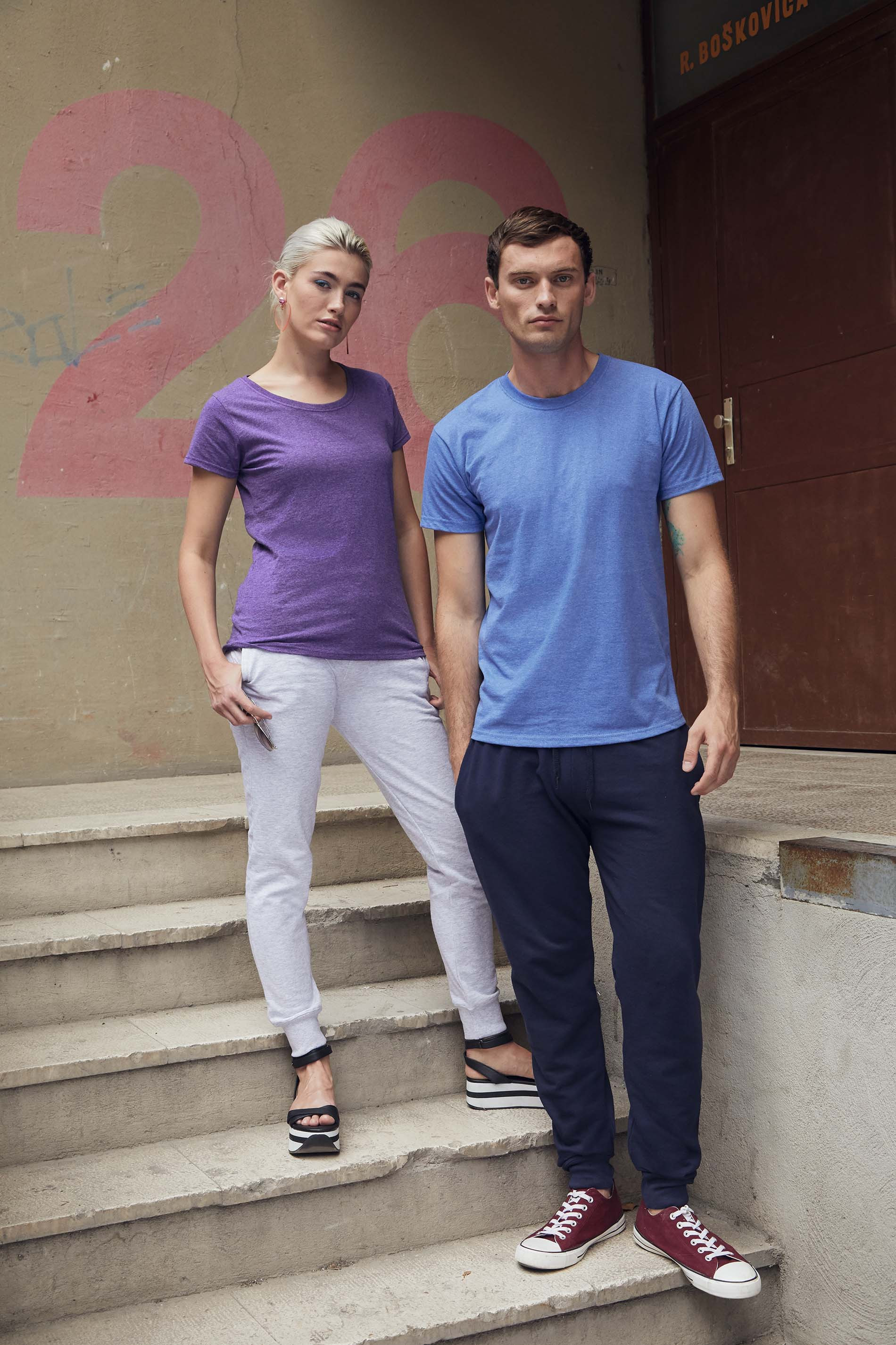 Fruit of the Loom Pantalon de jogging lightweight