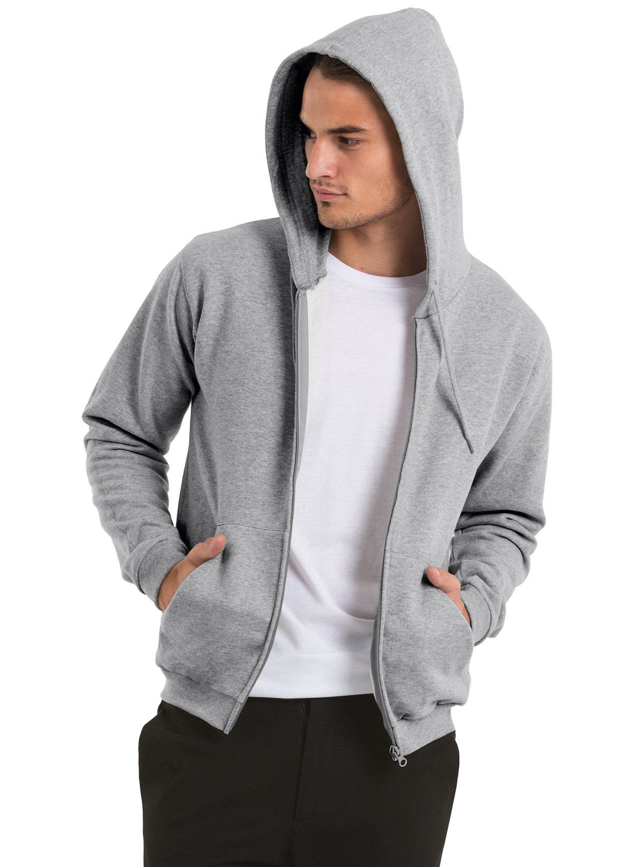 Sweat Shirt capuche zippé ID.205