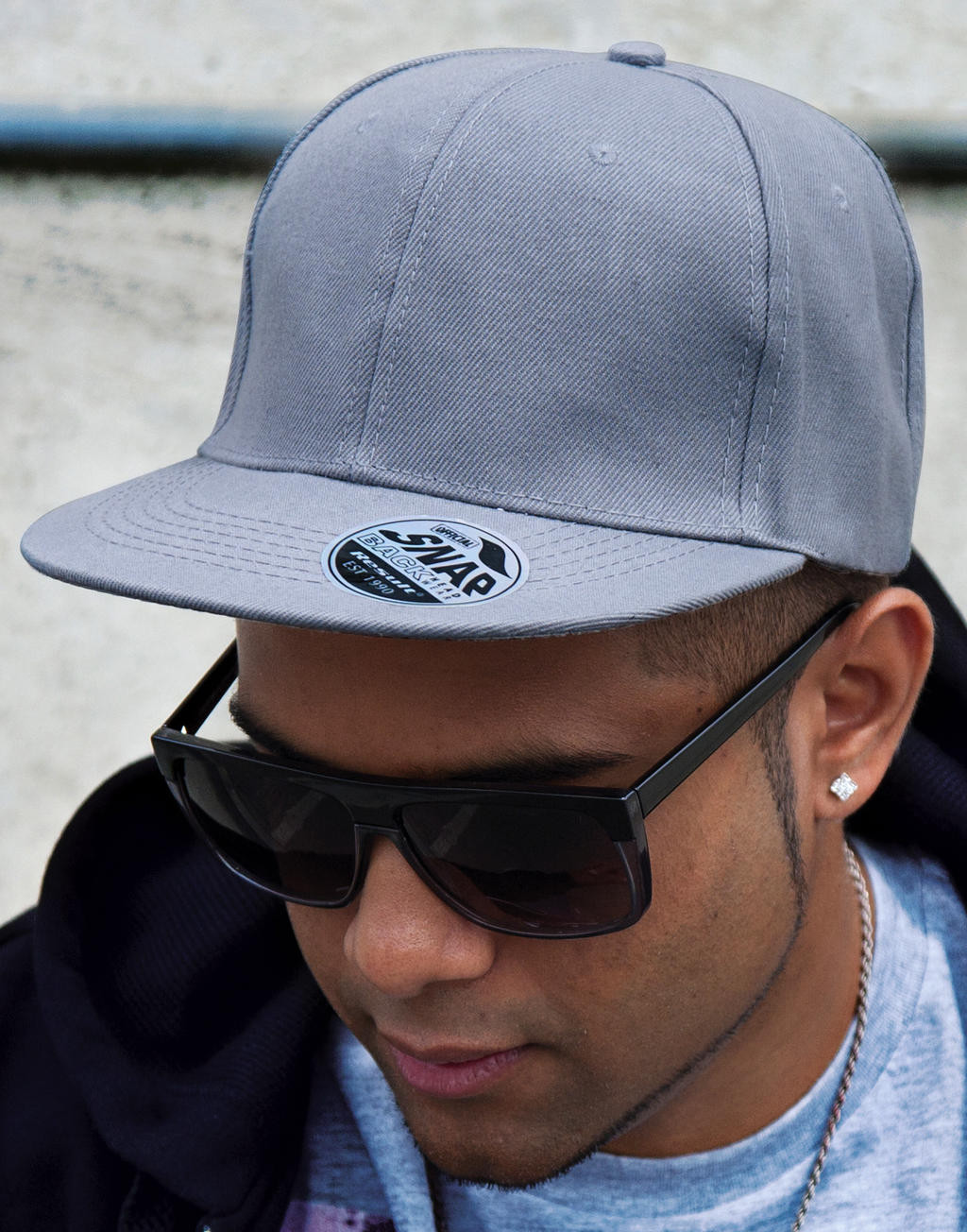 Result Bronx Original Flat Peak Snap Back Cap