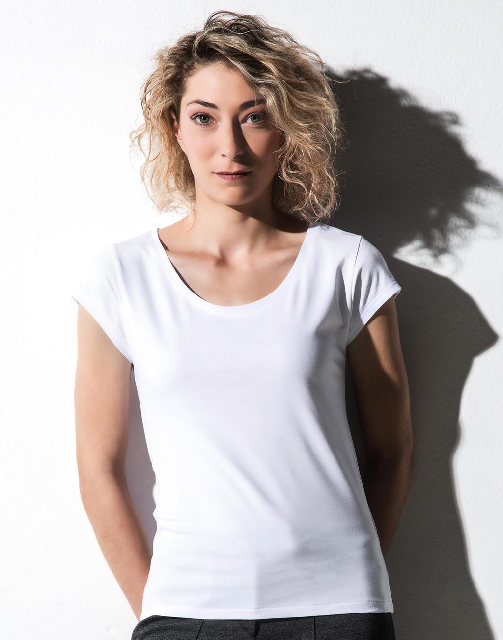 Nakedshirt Helen Women´s Cap Sleeve T-Shirt