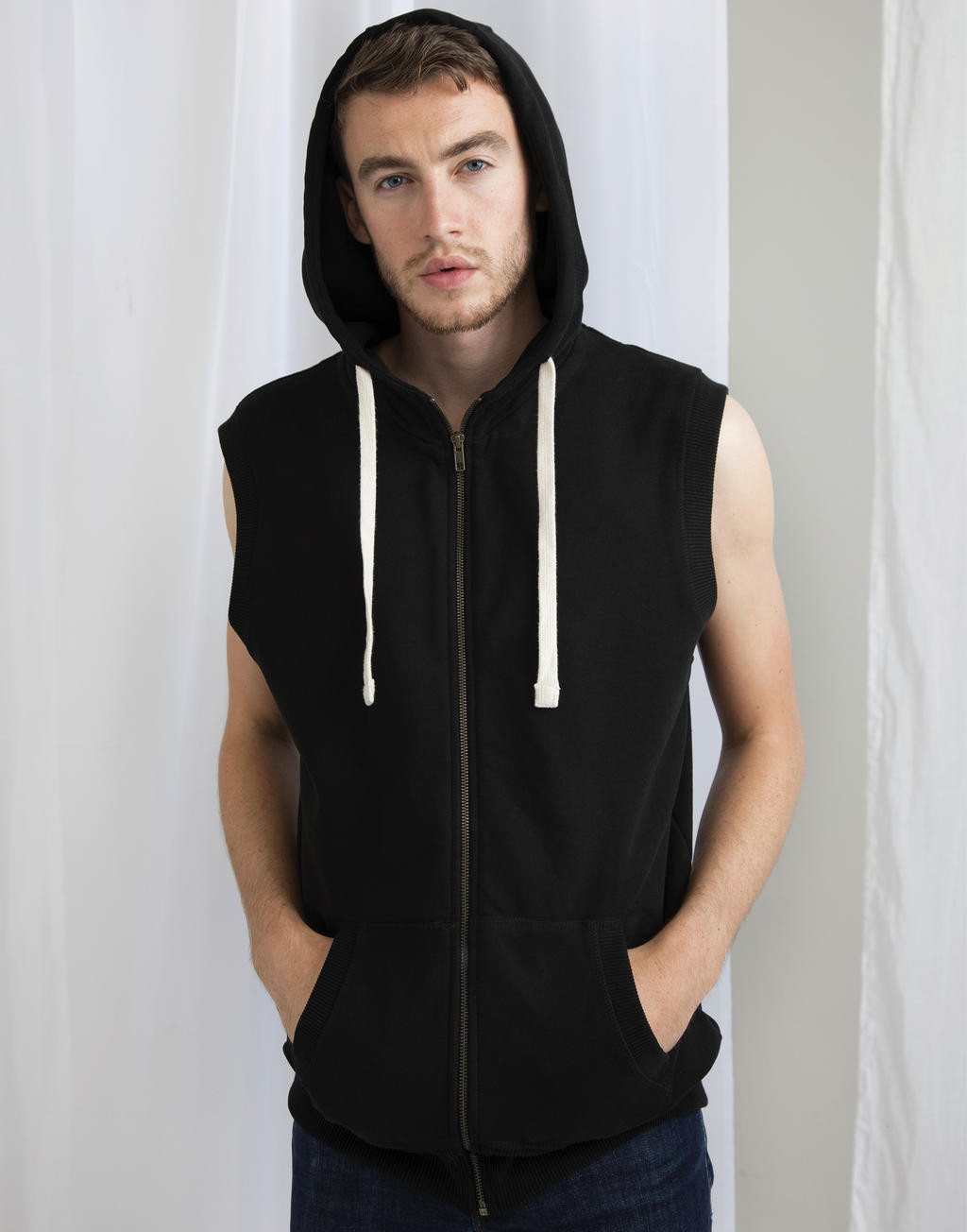 Mantis Men´s Superstar Sleeveless Hoodie